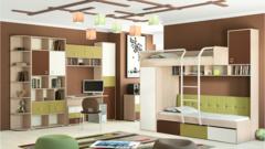 Набор мебели для детской комнаты Тетрис 9