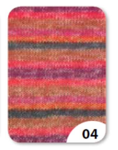 Купить носочную пряжу Grundl Hot Socks Ledro 04
