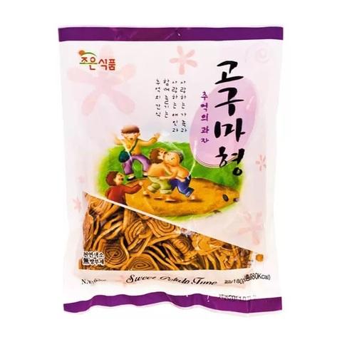 Хворост из пшеничной муки Joeun Sweet Poptato Type со вкусом карамели 180 гр