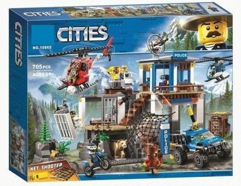 Конструктор Cities 10865 Штаб-квартира горной полиции