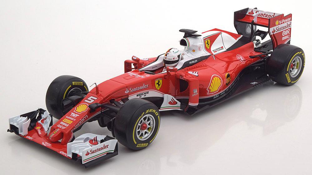 Коллекционная модель Ferrari SF16-H 2016 Vettel Special Edition Sponsor Italia (Black Box)