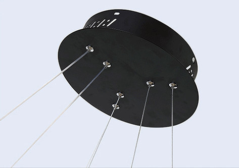 Подвесной Led светильник копия Corona by SONNEMAN D60 (черный)