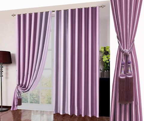 Комплект штор блэкаут Фелиция розовый