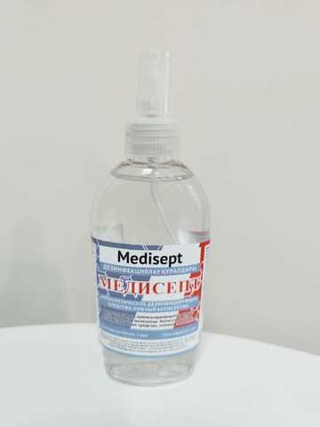 Кожный антисептик спиртовой Медисепт 150 мл спрей