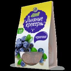 Компас здоровья льняные крекеры с черникой 50 г