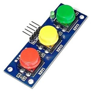 Модуль с тактовыми кнопками