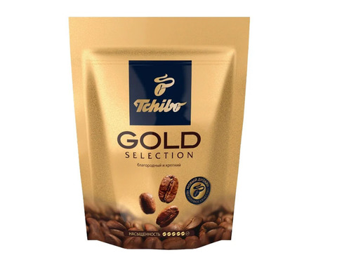 купить Кофе растворимый Tchibo Gold Selection, 75 г пакет