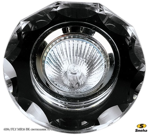 06168-9.0-001FLY MR16 BK (06186-9.0-001) светильник точ.