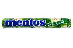 Mentos Green apple Ментос со вкусом зеленого яблока 38 гр