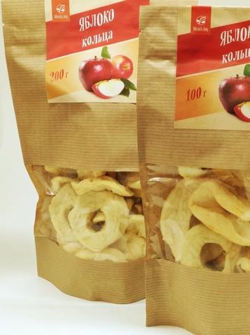 Яблоко (кольца), 100 г