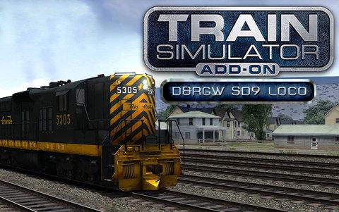 Train Simulator: D&RGW SD9 Loco Add-On (для ПК, цифровой ключ)