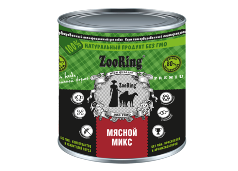 ZooRing Мясной микс 850 г.