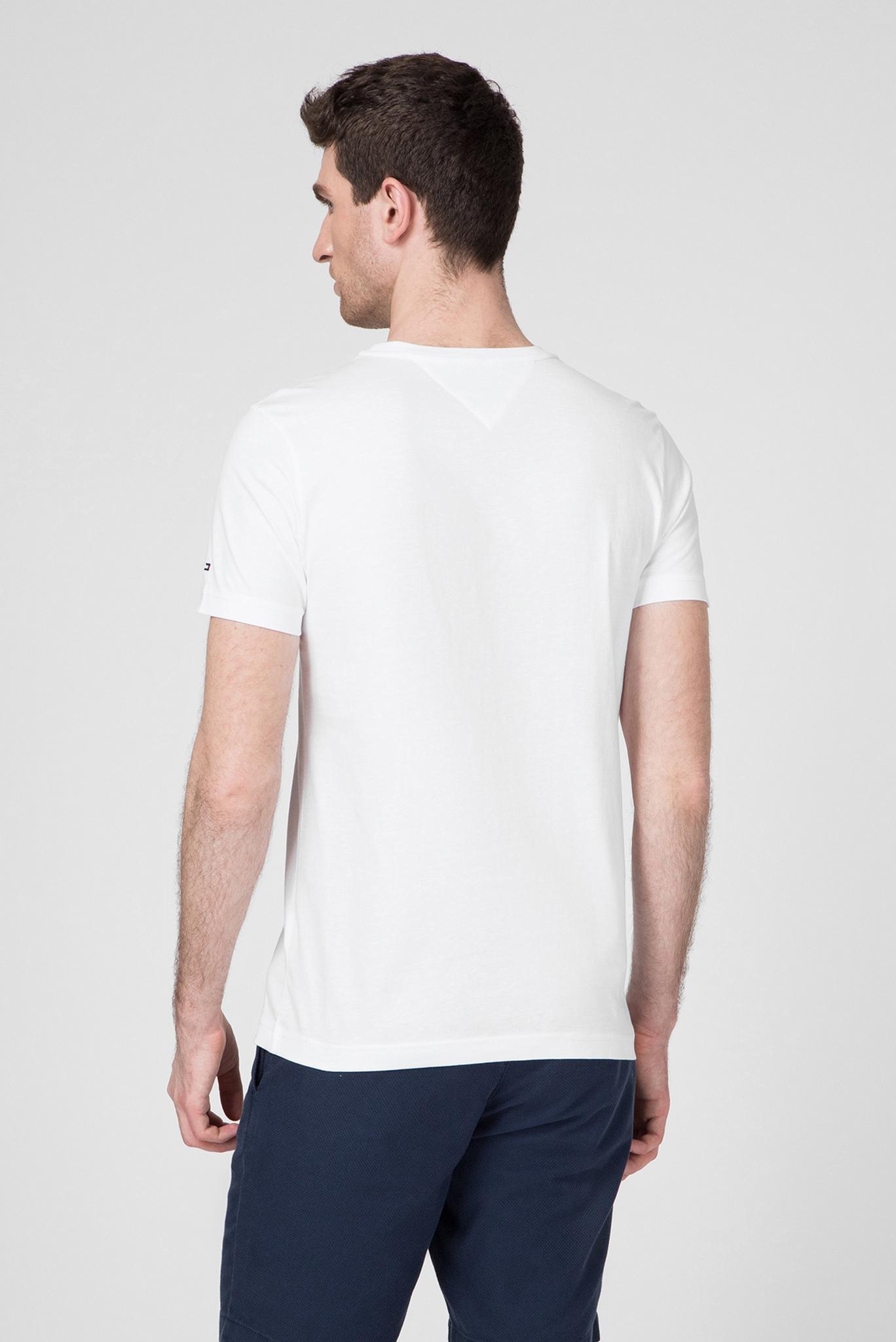 Мужская белая футболка RWB BOX OUTLINE Tommy Hilfiger
