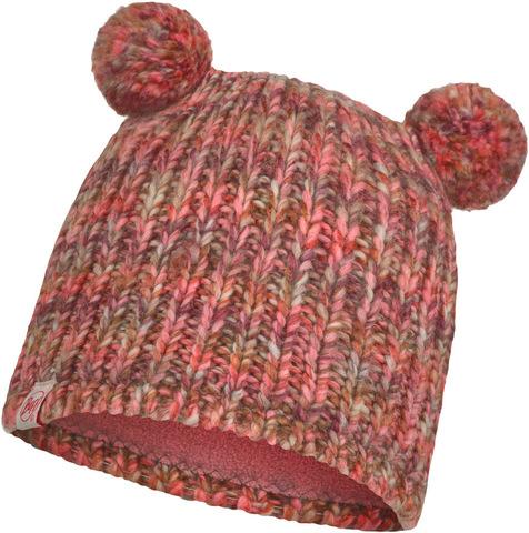 Шапка вязаная с флисом детская Buff Hat Knitted Polar Lera Flamingo Pink фото 1