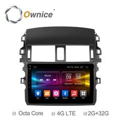 Штатная магнитола на Android 6.0 для Toyota Corolla 06-13 Ownice C500+ S9605P