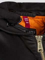 Куртка Alpha Industries MA-1 Natus Long W Black (Черная)