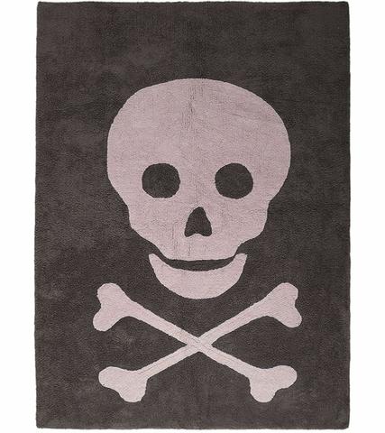 Ковер Lorena Canals Skull Dark Grey Pink (140 x 200)
