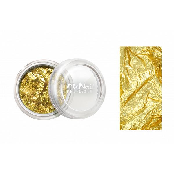 Переводная фольга ruNail, Фольга для дизайна ногтей №1150, золотая 1150_runail.jpg