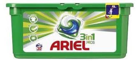 Капсулы для стирки Ariel 3in1 PODS (30 шт.)