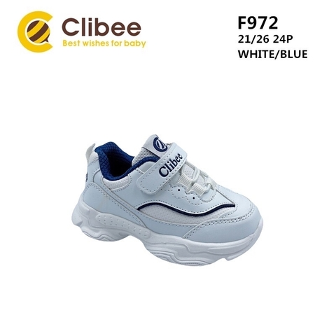 Clibee F972 White/Blue 21-26