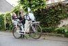 Велокресло Bobike Exclusive Tour Frame-Carrier система крепления 2 в 1. Цвет: Urban black