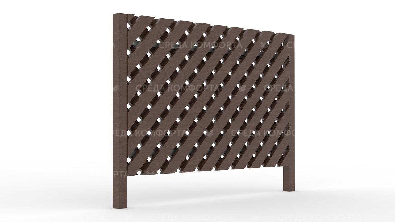 Деревянный забор ZBR0087