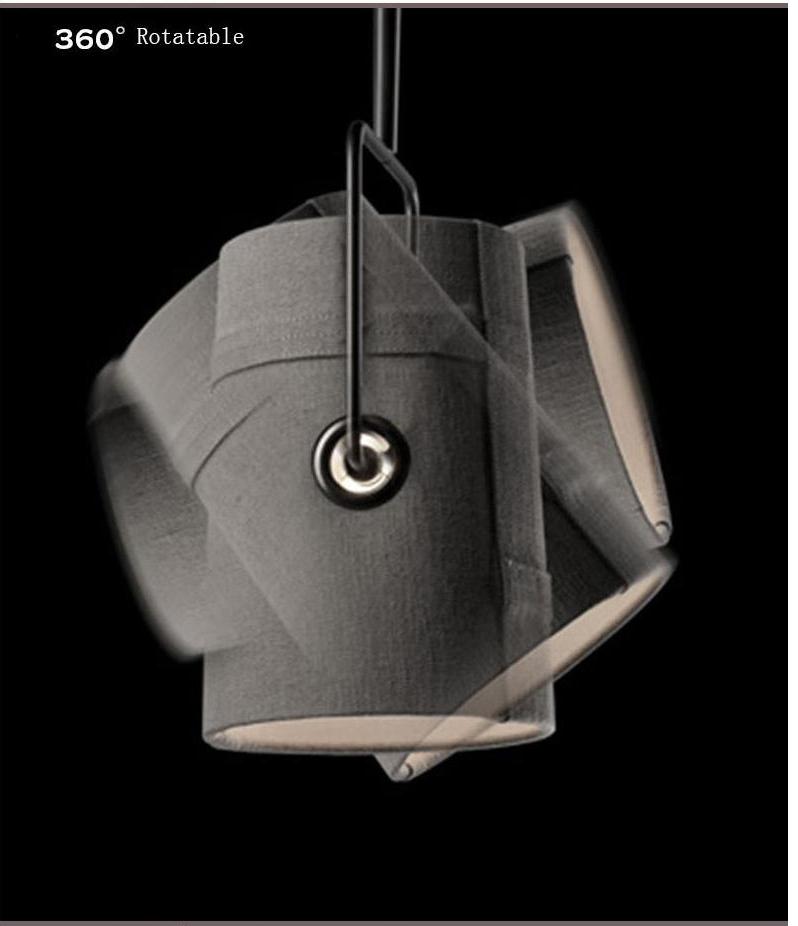Подвесной светильник копия Diesel Fork by Foscarini D33 (серый)