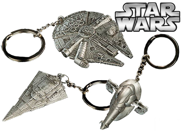 Брелок Star Wars Spaceship Boba Fett