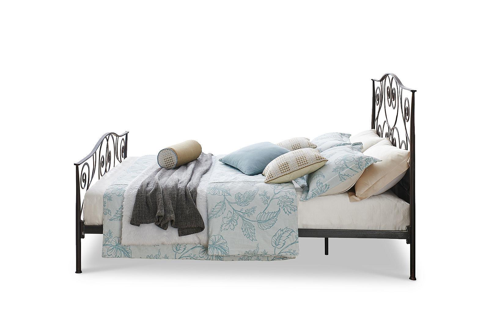 Кровать ESF TDF-0818 черный с медным