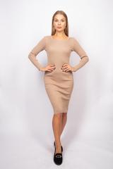 Платье из полиэстера до колена купить