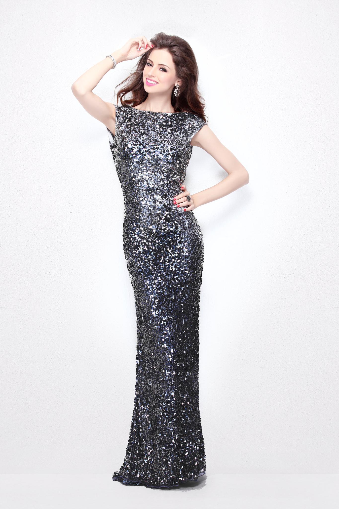 Платье в пол Royal 9548