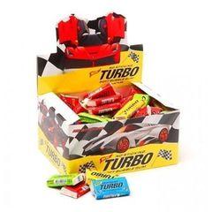 Жвачка Turbo-S (Турбо) (блок 100 шт.) с вкладышами