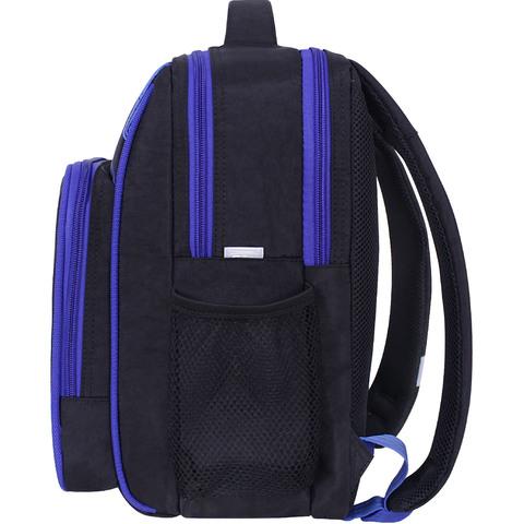 Рюкзак школьный Bagland Школьник 8 л. черный 1016 (0012870)