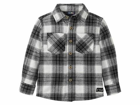 Рубашка для мальчика Lupilu фланель