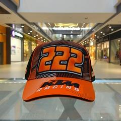Кепка КТМ черно-оранжевая (мото кепка KTM)