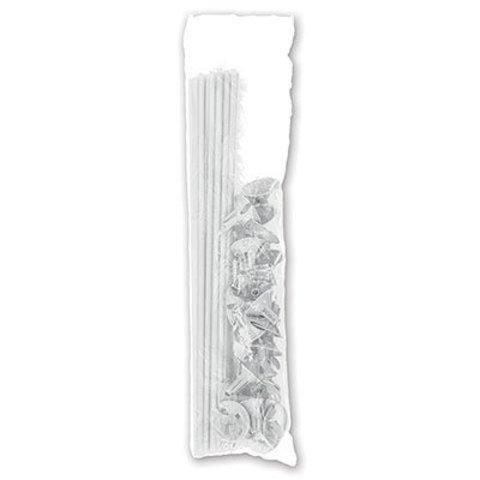 Комплект Палочка+Розетка Белые, 10шт
