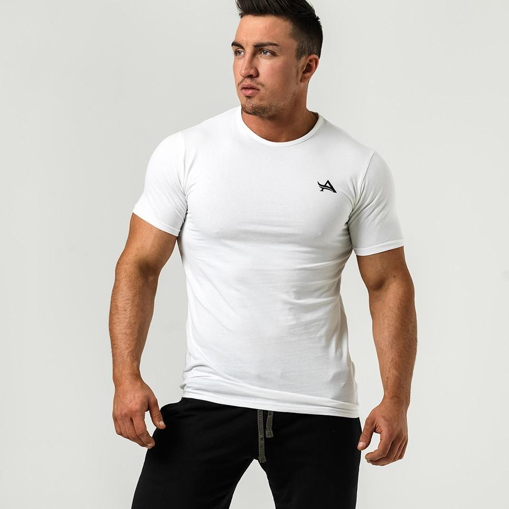 Мужская футболка AE TEE ROUND NECK WHITE BLACK