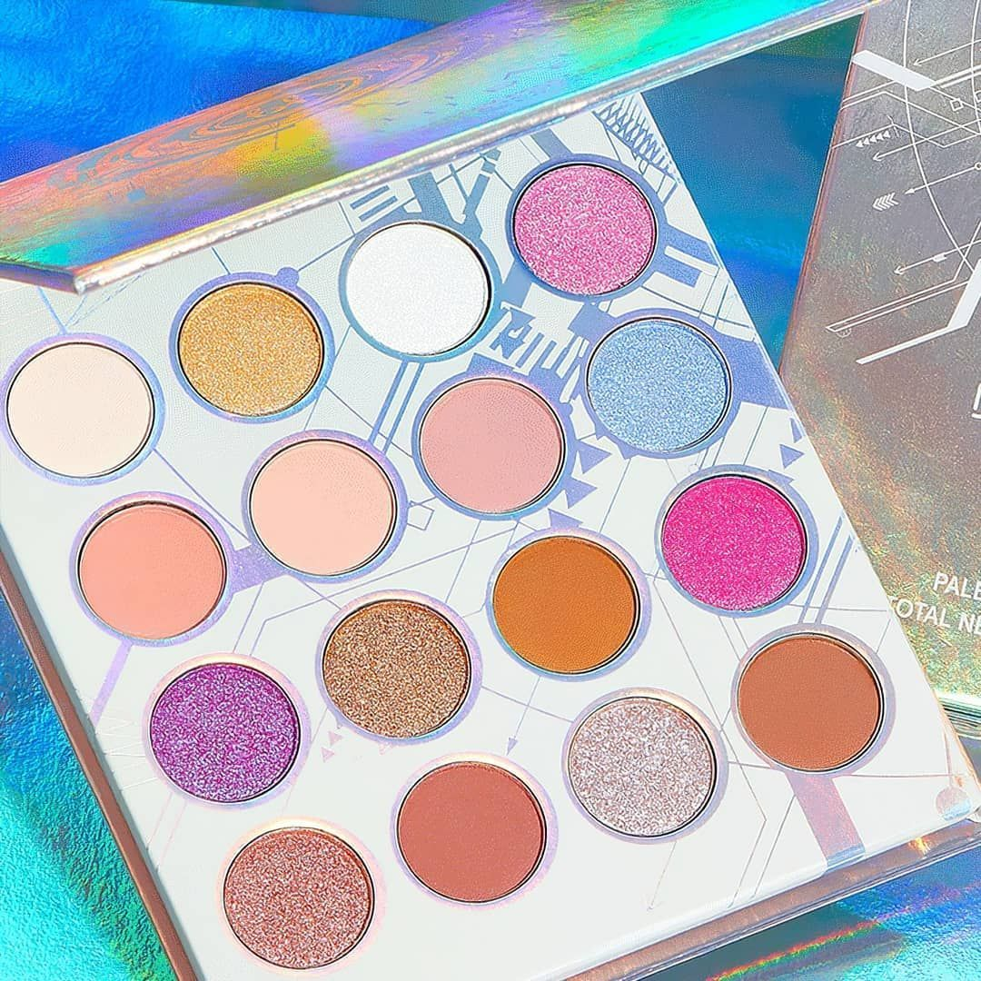 BH Cosmetics Digital Future 16 Color Shadow Palette