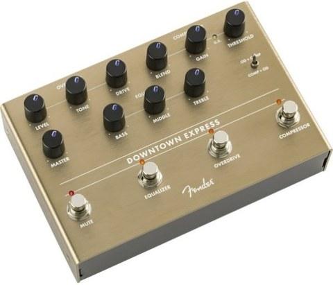 FENDER DOWNTOWN EXPRESS BASS MULTI EFFECT Гитарная педаль, овердрайв/компрессор/эквалайзер
