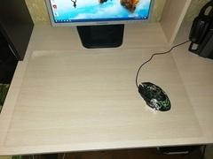 Коврик на компьютерный стол 45 х 65см