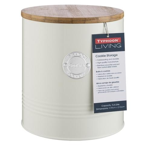 Ёмкость для печенья Living кремовая 3,4 л