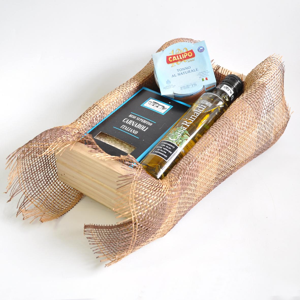 Подарочный набор Casa Rinaldi с продуктами Riso Tonno