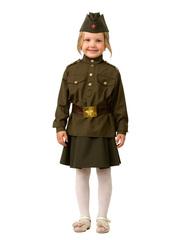 Купить костюм Солдатки для девочки - Магазин