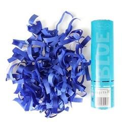 Пневмохлопушка Голубое конфетти, 20 см