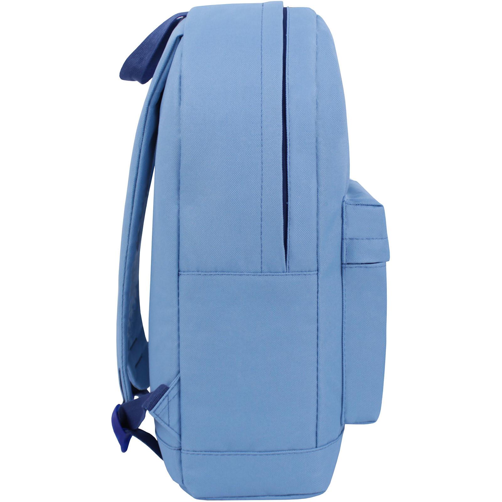 Рюкзак Bagland Молодежный W/R 17 л. голубой (00533662) фото 2