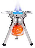 Картинка горелка туристическая Fire-Maple Family FMS-108 пьезо  -