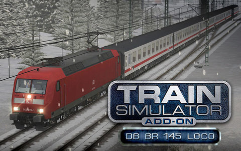 Train Simulator: DB BR 145 Loco Add-On (для ПК, цифровой ключ)