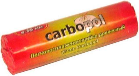 Уголь Carbopol (35 мм,10шт/уп)