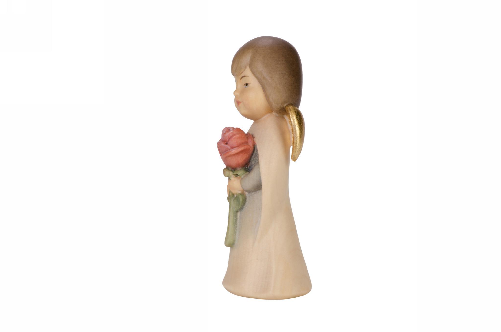 Ангел с розой