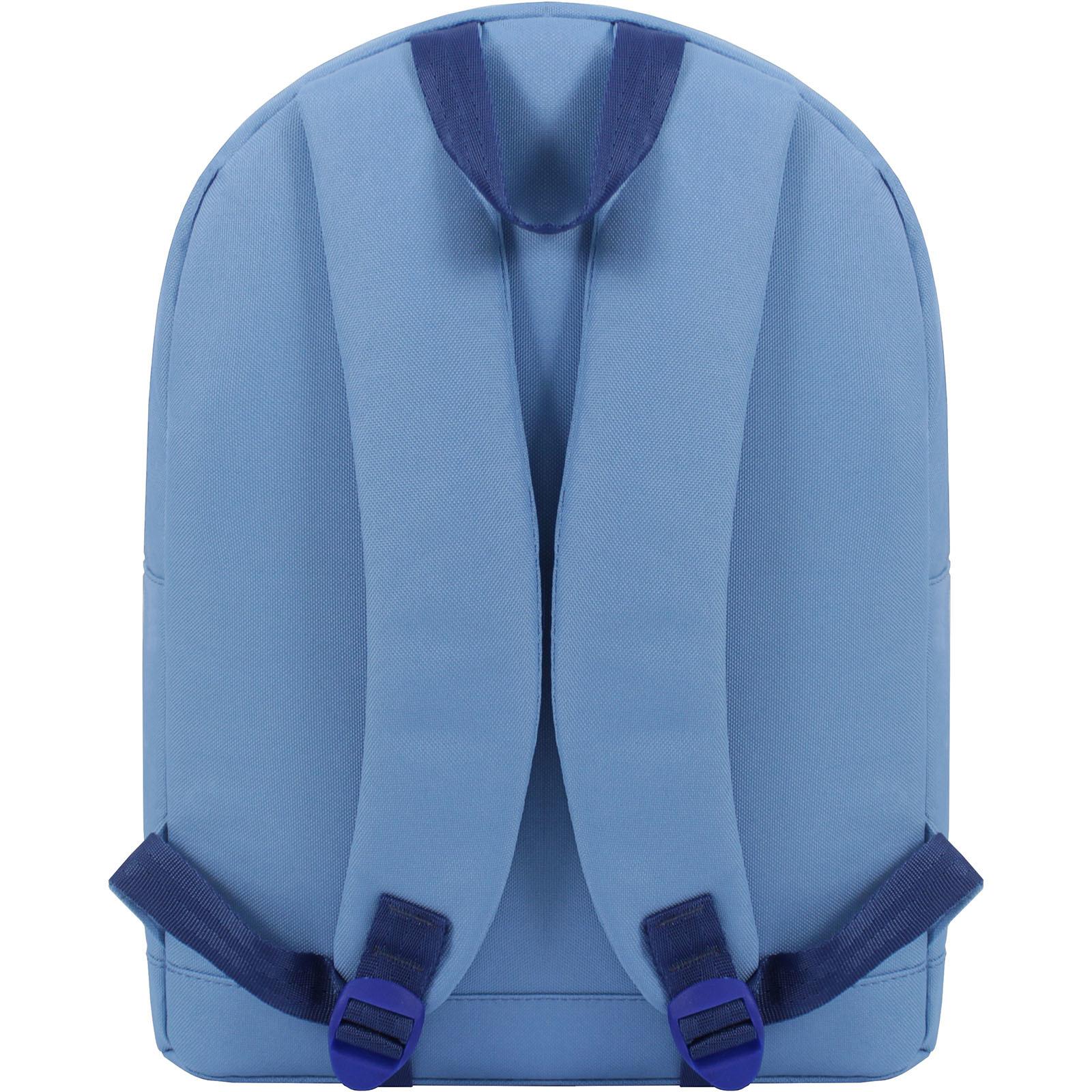 Рюкзак Bagland Молодежный W/R 17 л. голубой (00533662) фото 3